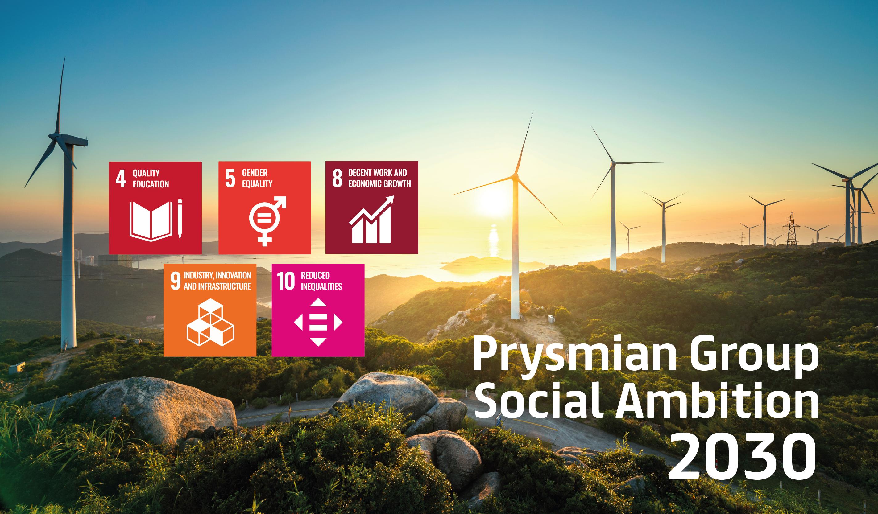 Nya sociala målsättningar i Prysmian Group